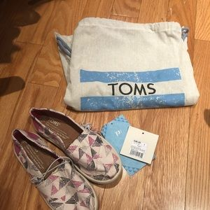 Toms Loafers Special Edition Kids Shoes & Backpack